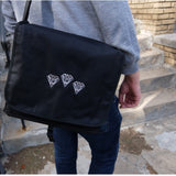 "PPU 12"" SATCHEL ~ DJ RECORD BAG"
