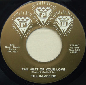"THE CAMPFIRE ""The Heat Of Your Love"" PPU-037 BOOGIE FUNK 7"""