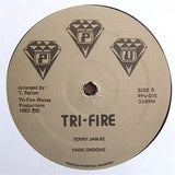 "ROBBIE M & MIDNIGHT EXPRESS ""Tri-Fire Vol. 2"" PPU UNRELEASED BOOGIE FUNK 12"""