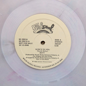 "SKYY ""Here's To You"" SOUL DISCO BOOGIE REISSUE 12"" - COLOR VINYL"