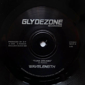"WAVELENGTH ""Funk Dreams"" Dam-Funk PRIVATE BOOGIE FUNK 7"""