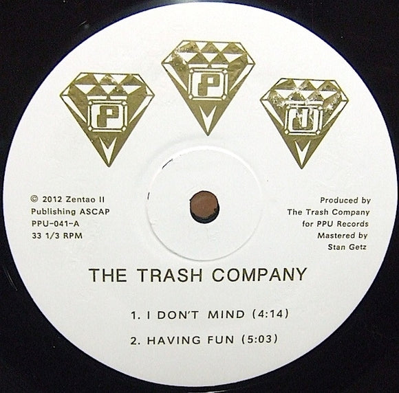 THE TRASH COMPANY / HAVING FUN / PPU-041 UNRELEASED RICHMOND SYNTH FUNK 12
