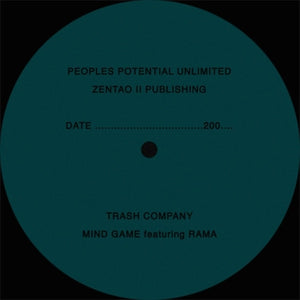 "THE TRASH COMPANY ""Mind Game"" COSMIC DISCO PPU ZENTAO 12"""