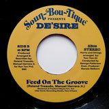 "DE'SIRE ""I Don't Care / Feed On The Groove"" MODERN SOUL BOOGIE FUNK 7"""