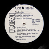 "BROTHERS ""Under The Skin"" RARE SOUL DISCO PROMO REISSUE 12"""