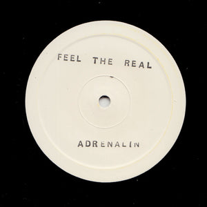 "ADRENALIN ""Feel The Real"" RARE COSMIC DISCO FUNK REISSUE 12"""