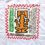 "Keith Haring ""Paradise Garage"" Larry Levan 1984 Disco T-Shirt"