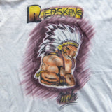 VINTAGE AIRBRUSH WASHINGTON REDSKINS MIKE SELLERS NFL T-SHIRT 3XL