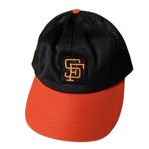San Francisco Giants ~ Vintage ~ Rare 80S 90S Mlb Baseball Trucker Snapback Hat