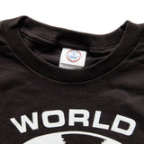 WORLD BUILDING / LOGO T-SHIRT (Black)