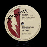 "TRANZIT ""Missing You"" RARE MODERN SOUL BOOGIE FUNK REISSUE 12"""