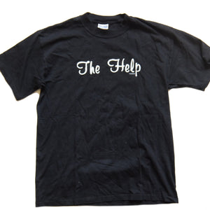 The Help ~ Vintage ~ Rare 90s Indie Rock Concert Music Band T-Shirt (Large)