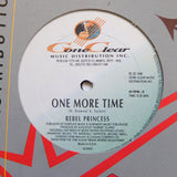 "REBEL PRINCESS ""Last Night / One More Time"" RARE DANCEHALL REGGAE R&B 12"""