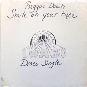 "IWABO ""Reggae Down"" PRIVATE PRESS 70s TROPICAL DISCO FUNK 12"""