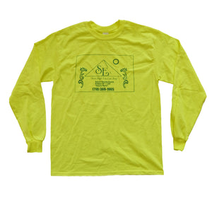 "SUPERIOR ELEVATION RECORDS ""Best Hight You Can Buy"" NEON LONG SLEEVE T-SHIRT"