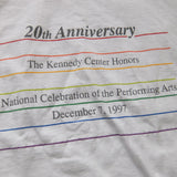 The Kennedy Center Honors ~ Vintage ~ Rare 90s Washington DC Performing Arts T-Shirt (Large)