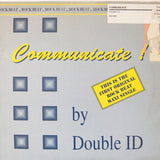 "DOUBLE I.D. ""Communicate!"" RARE ANTLER NEW BEAT EBM SYNTH WAVE 12"""