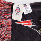 New England Patriots ~ Official ~ NFL Football Logo Acrylic Winter Scarf