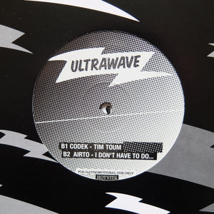 "V/A ""Ultrawave Volume 2"" MEGA RARE COSMIC DISCO ITALO DISCO SYNTH WAVE 12"""