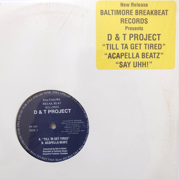 D & T PROJECT (Dukeyman & Technics)