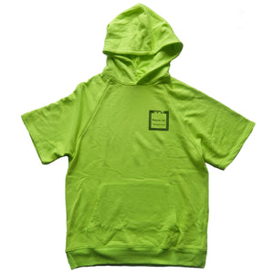 "PPU Products Inc. ""Quality Sound"" SHORT SLEEVE NEON HOODIE SWEATSHIRT"