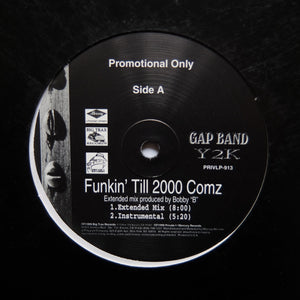 "GAP BAND Y2K ""Funkin' Till 2000 Comz"" TALKBOX G-FUNK HIP-HOP GANGSTA RAP 12"""