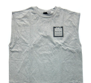 "PPU ""Peoples Potential Unlimited"" MUSCLE T-SHIRT - GREY"