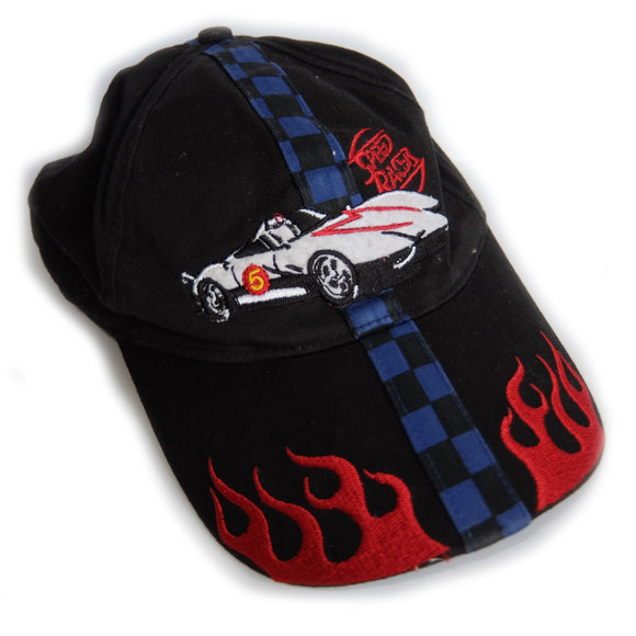 Speed Racer Go! Go! Go! ~ Vintage ~ Mega Rare 90s Y2K TV Anime Car Racing Dad Cap Hat