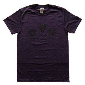 "Peoples Potential Unlimited ""Lo-Vis"" Logo T-Shirt Ppu Blackberry"
