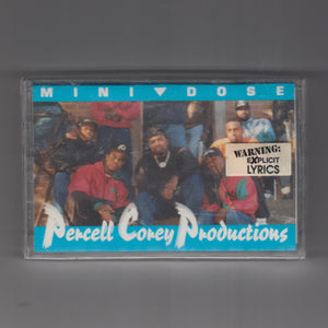 "PERCELL COREY PRODUCTIONS ""Mini Dose"" RARE RAP CASSETTE"