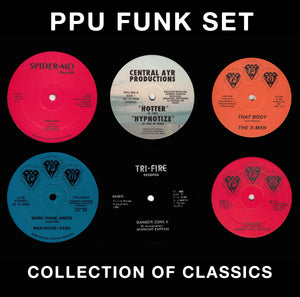 "PPU FUNK SET ~ COLLECTION OF 12"" CLASSICS"