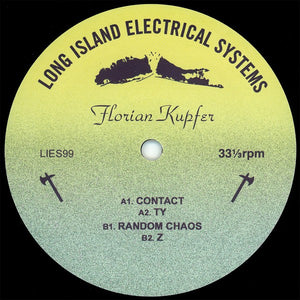 "FLORIAN KUPFER ""Contact"" LIES DEEP HOUSE AMBIENT TECHNO 12"""