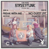 "Mofak / Diamond Ortiz ""Street-Funk Volume Two"" FUNK FREAKS SYNTH BOOGIE FUNK LIMITED 7"""