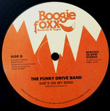 "The Funky Drive Band ""Lost Generation / She's On My Mind"" BOOGIE FOXX SYNTH BOOGIE 12"" + FANZINE"