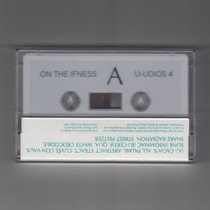 "ON THE IFNESS ""s/t"" U-UDIOS 4 COSMIC NEW AGE AMBIENT SYNTH KRAUTROCK CASSETTE"