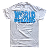 "World Building / Logo ""V2.0"" T-Shirt (White)"