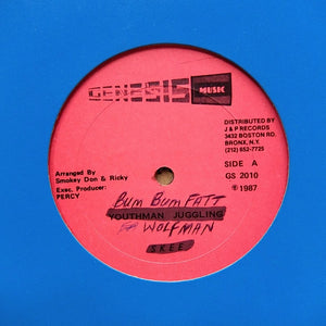 "SKEE ""Youthman Juggling / Being With You"" RARE DIGITAL DANCEHALL REGGAE 12"""