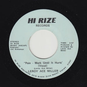 "LEROY ACE MILLER ""Pain"" PRIVATE ATLANTA MODERN SOUL BOOGIE 7"""