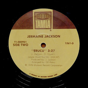 "JERMAINE JACKSON ""Erucu"" CLASSIC DISCO FUNK BREAK REISSUE 12"""