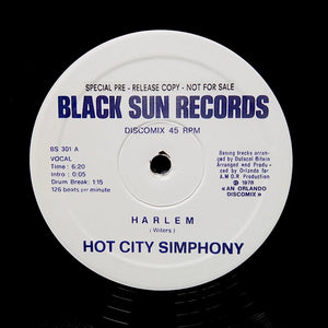 "Hot City Simphony ""Harlem"" / Shining Star ""Believe In Magic"" COSMIC ITALO DISCO REISSUE 12"""