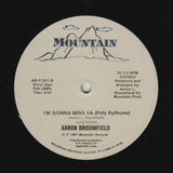 "AARON BROOMFIELD ""I'm Gonna Miss Ya"" RARE SYNTH BOOGIE REISSUE 12"""