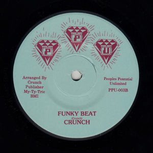 "CRUNCH ""Funky Beat"" BIZARRE SYNTH DISCO FUNK 7"""