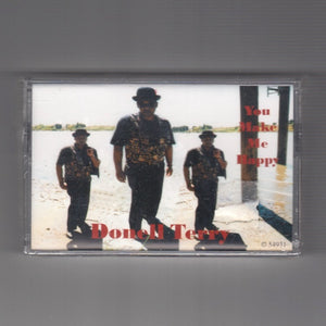 "DONELL TERRY ""You Make Me Happy"" PRIVATE UNKNOWN CASSETTE TAPE SYNTH LOVE"