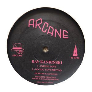 "RAY KANDINSKI ""Faking Love"" ARCANE DEEP HOUSE 12"""