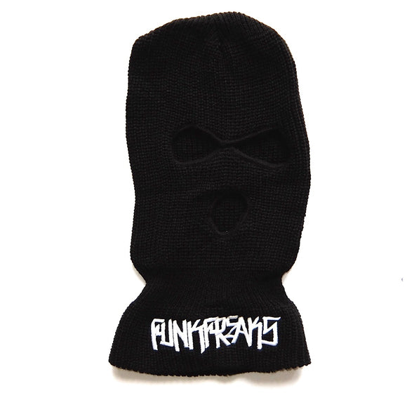 Funk Freaks California ~ Black Knit Ski Mask Hat