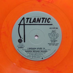 "Narada Michael Walden ""I Shoulda Loved Ya"" RARE DISCO FUNK ORANGE VINYL REISSUE 12"""