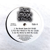 "RAW IMAGE ""R.I. Party"" RARE DC GO-GO FUNK RANDOM RAP 2LP"