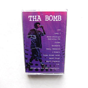 THA BOMB ~ UNKNOWN MIDWEST HIP HOP R&B SYNTH FUNK CASSETTE
