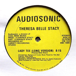"THERESA BELLE STACY ""Lady Tee"" AUDIOSONIC OBSCURE BOOGIE 12"""