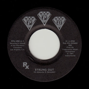 "Rx ""Strung Out"" DELROY EDWARDS & BENEDEK PPU-058 7"""